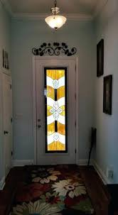 stained glass door inserts custom door glass insert with stained glass design in hurricane impact stained glass door inserts