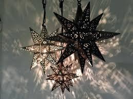 moravian star pendant light cer 3 moravian star hanging light