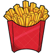 french fries clip art. Serving Of French Fries PNG JPG And Vector EPS File Formats Infinitely Scalable For Clip Art FriendlyStock