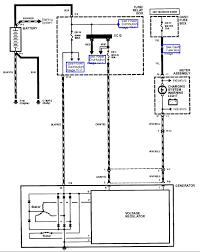 isuzu rodeo alternator wiring diagram wiring schematics and 2002 isuzu rodeo wiring diagram 1milioncars