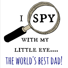 Day Cards To Print Free Father S Day Card I Spy Print Brie Brie Blooms
