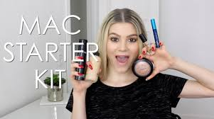 today i m sharing my take on a mac makeup starter kit i show