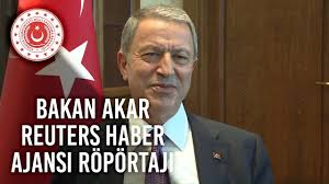 Bakan Akar Reuters Haber Ajansına Röportaj Verdi - YouTube