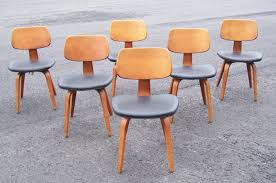 thonet bentwood chairs for sale. 1 set of 6 matching mid century modern thonet bentwood chairs c1950. each chair measures 30 and one half inches to the top its back, 18 wide, for sale l