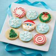 decorated round christmas sugar cookies. Wonderful Decorated Christmas Cookies Decorations With Round  10 Best Christmas Cookie  Decoration Ideas Intended Decorated Round Sugar Cookies Pinterest
