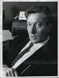 1956 Press Photo Ray Scherer, NBC White House Correspondent ...