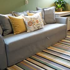 space saving ideas with a sofa bed