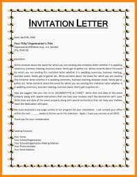 Invitation Event Sample Outstanding Sample Of Invitation Letter For School Event 6