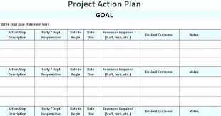 Simple Project Planning Template Project Management Action Plan Template Project Management