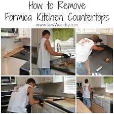 Pleasant Replace Kitchen Countertop How To Remove Formica Countertops Sew  Woodsy