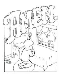 Child Praying Coloring Page Catholic Coloring Book Pages Coloring