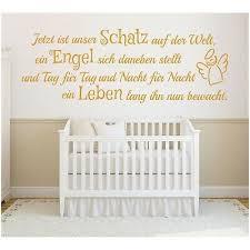 Wandtattoo Spruch Mädchen Geburt Engel Kind Leben Wandsticker