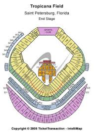 Tropicana Field Tickets And Tropicana Field Seating Chart