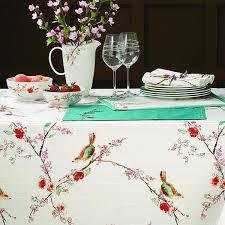lenox chirp microfiber tablecloth
