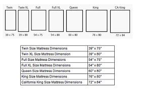 Bed Frame Dimensions Chart Standard Bed Frame Sizes