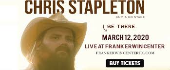 Chris Stapleton Tickets 12th March Frank Erwin Center In