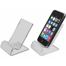 Cell Phone Display Stands Universal Clear Acrylic Phone Holder Display Stand EStoreTronics 25