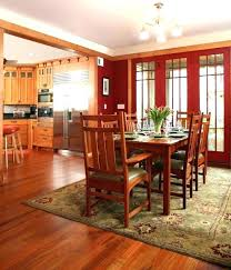 mission style cabinets dining room craftsman with area rug d for rugs wool modern bungalow outdoor arts and crafts styl