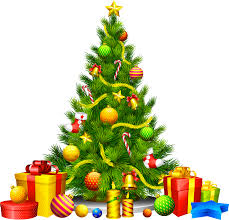 christmas tree with presents and lights clip art. Large Transparent Christmas Tree With Presents Clipart Gallery Png Royalty Free Download And Lights Clip Art