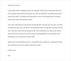 Love Letter to Fiance