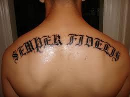 Tetování Text Fotogalerie Motivy Tetování