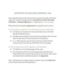 Employee Non Disclosure Agreement Template New Confidentiality Basic