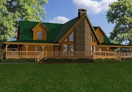 Large Log Homes House Plans  House Design PlansLarge Log Cabin Floor Plans