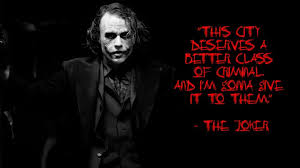 Joker Quotes Awesome The Joker Quotes Aiyoume