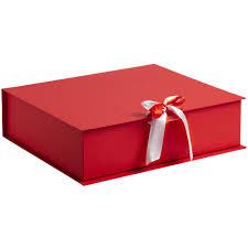 Купить <b>Коробка на лентах Tie</b> Up, красная 10600.50 с логотипом ...