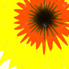 Yellow Light Shining Down Stock Illustration