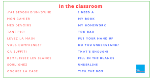 essential french phrases for the classroom 111 essential french phrases for the classroom