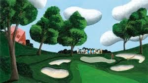 rip van golfer the new yorker