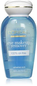 amazon l oreal dermo expertise refreshing oil free eye makeup remover 4 oz pack of 3 health personal care