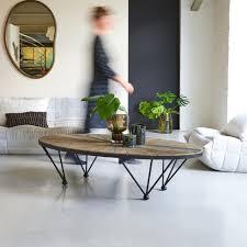 elm and metal coffee table lancelot