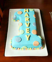 First Birthday Cake Decorating Ideas Lovely Homemade Eggless 3d