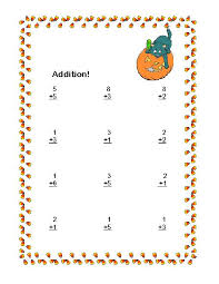 Halloween Themed Math Addition & Subtraction Within 20 Worksheets ...Halloween Themed Math Addition & Subtraction Within 20 Worksheets