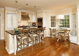 kitchen breakfast nook furniture. elegant kitchen photo in dc metro with paneled appliances breakfast nook furniture s