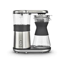 Just press a few buttons, wait for some time, and poof! 8 Cup Pour Over Coffee Maker Brim