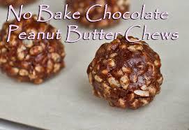 no bake chocolate peanut er chews