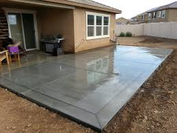 Luxury Staining Concrete Patio Bright Lights Big Color