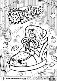 Shopkins Coloring Pages That You Can Print Out Unique Lovely
