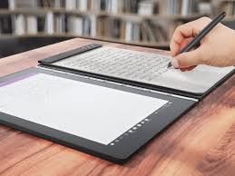 lenovo s yoga book is the best android tablet for students tab cult