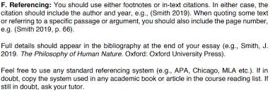 Citation Styles Philosophy Subject Guides At University