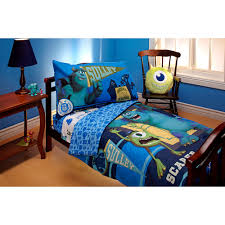 disney pixar monsters scarer in training 4pc toddler bed set com