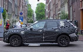 2018 volvo xc60 spy shots. we catch volvo xc60 covered in swiss cheese-spec camo 2018 xc60 spy shots x
