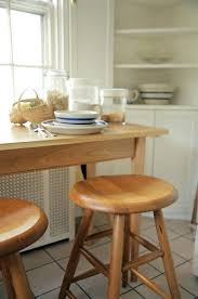 unfinished powell bar stools shaker style furniture shaker oval saddle stool is perfect for kitchen islands breakfast nooks console table