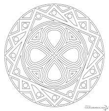 Coloriage Mandala 12 Ans