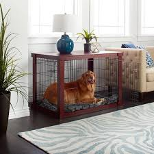 furniture pet crates. Wooden Pet Crate And Side Table By Merry Products Furniture Crates
