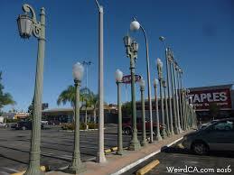 Light Poles California Vermonica Weird California