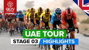 UAE Tour Stage 3 Highlights | Al Qudra Cycle Track › Jebel Hafeet - YouTube